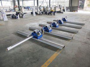 १W० डब्ल्यू पोर्टेबल सीएनसी प्लाज्मा काट्ने मेशिन मोटा धातु cutting - १ 150० मिमी काट्नका लागि
