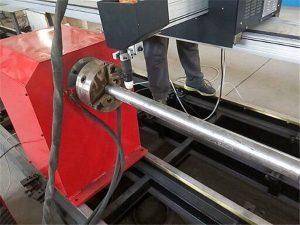 २०१ New नयाँ पोर्टेबल प्रकार प्लाज्मा धातु पाइप कटर मशीन, सीएनसी धातु ट्यूब काट्ने मेसिन