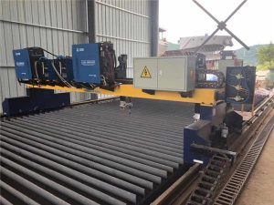 तातो बिक्री धातु प्लेट सीएनसी लौ गैस काट्ने मेशीन