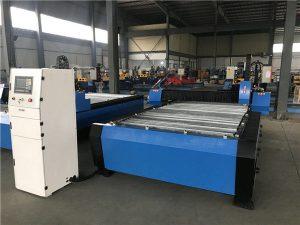 ठुलो 20006000mm सीएनसी धातु शीट पाइप प्लाज्मा काटना ड्रिलिंग मशीन