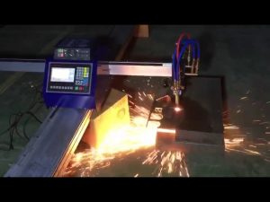 धातु स्टेनलेस स्टील काटनेको लागि कम लागत मिनी पोर्टेबल सीएनसी पाइप ज्वाला प्लाज्मा काटनेको मेशिन